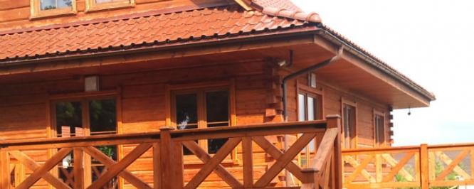 Drewniane domy z bala
